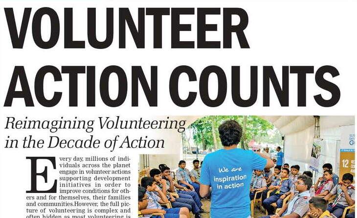 Volunteer action counts – Reimagining Volunteering in the Decade of Action
